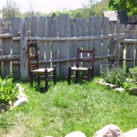 Friendship Chairs - Plimoth Plantation, Plymouth MA